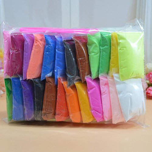 12/24/36 Couleurs Non-toxique Argile Ultra-Léger Creative DIY Air Dry Plasticine Jouets