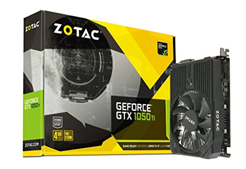 Zotac Nvidia geforce GTX 1050 ti 4 GB Mini–Grafikkarte