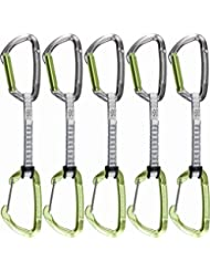 Climbing Technology Lime-M - Lot de dégaines d'escalade 17 cm Gris/vert