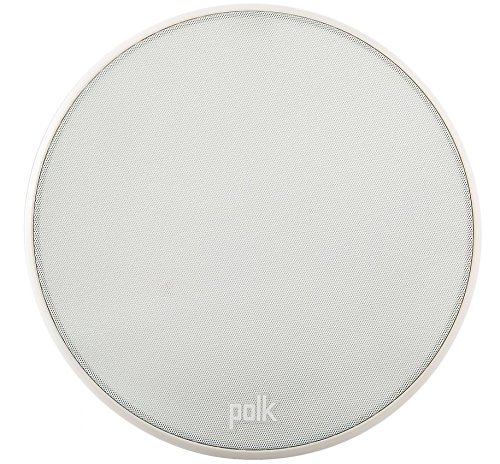 Polk Audio V 60Slim de Alto Rendimiento Altavoz empotrable (, Color Blanco