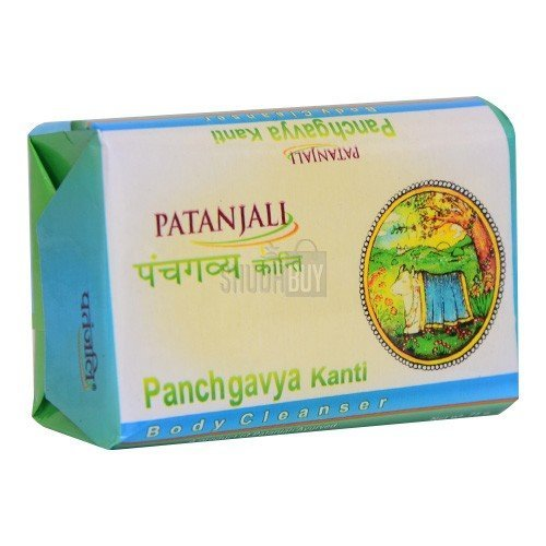 Patanjali Kanti Panchgavya Body Cleanser, 75gm - Pack of 12