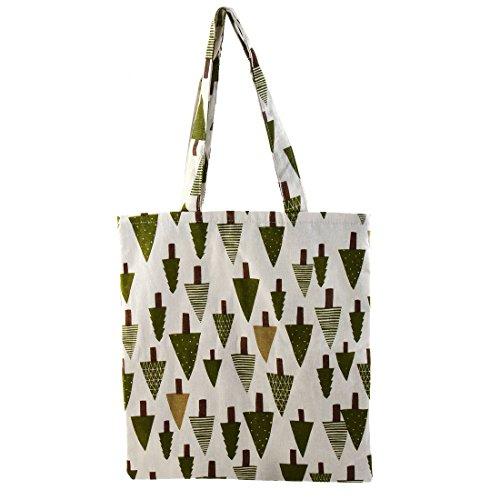 sourcingmap Reißverschluss Schulter Pack Hand Beutel Outdoor Einkaufen Handtasche Tasche Grün (Grün-legere Handtasche)