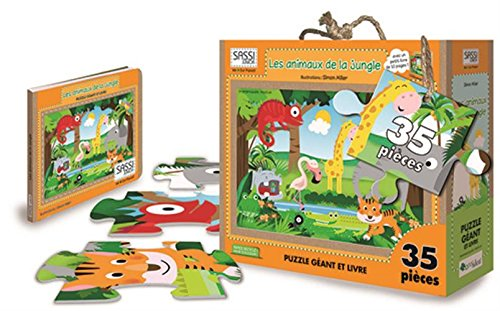 les-animaux-de-la-jungle-libro-puzzle