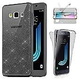 Coque Gel Compatible avec Samsung Galaxy J3 (2016) Protection 360° Integral Anti...