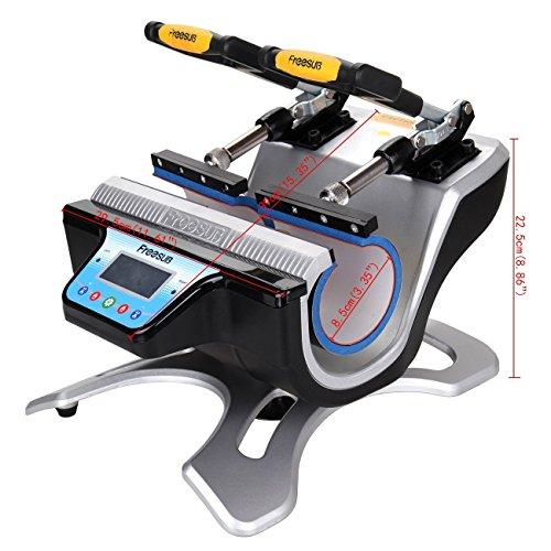 Ridgeyard Automatische Doppel Station Becher Transferpresse Maschine DIY Sublimation 2 Tassen in einem LCD Zeitsteuerung für Tasse Drucken - 2