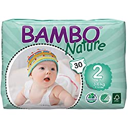 Abena Bambo Natura Pannolini da bambino - Confezione da 30