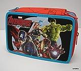 Astuccio 3 Zip Epic Team Avengers Marvel