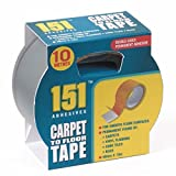 1 X Teppich an Holzboden Tape - Zehn Meter lang x 48mm Wide Doppel Sided.For dauerhafte Fixierung von Teppichen, Vinyl-Böden, Cork Fliesen, Teppiche und vieles mehr!