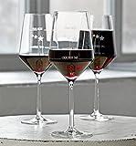Sternefresser 6 Stück Wie war Dein Tag-Weingläser von Zwiesel | 6er-Set | Guter Tag, Schlechter Tag-Weinglas mit Gravur | 6X 540ml Glas | Rotwein Weißwein | Made in Germany