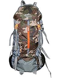 Himalayan Adventures 75 Ltrs ARMY Colour, Backpack/Rucksack/Travelling Bag/Hiking Bag/Adventure Bag/Camping Bag...