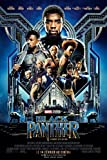 Affiche Cinéma Originale Grand Format - Black Panther (format 120 x 160 cm pliée)...