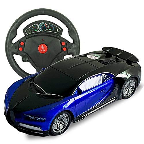 DHShop 1:16 Fernbedienung Spielzeugauto, Erwachsene Kinder Racing Spielzeugauto, Lenkrad Fernbedienung Auto Boy Toy, eine Vielzahl von optional,Blue