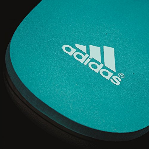 adidas Herren Calo 5 Gr M Flip-Flops Schwarz / Grün (Negbas / Vertra / Eqtver)