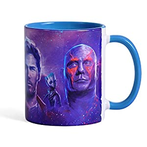 Guardians of the Galaxy Mug Heroes of Vol.2 by Elbenwald Ceramic Blue
