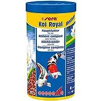 Sera 071 koi Royal Medium (4mm) Alimento Principal para Un ausgewogenes Crecimiento Von Koi Entre 12 y 25cm - 1.000ml