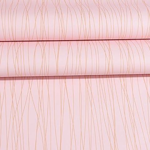 JLSZ Moderna y minimalista de la pared a rayas autoadhesivas de papel tapiz de pared dormitorio salón dormitorio de pared de PVC impermeable adhesivo impermeable ,2261 junta 60cm ancho /3 Los precios del