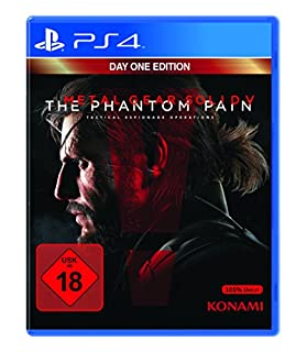 Metal Gear Solid V: The Phantom Pain - Day One Edition - [PlayStation 4] (B00X5V81UW) | Amazon price tracker / tracking, Amazon price history charts, Amazon price watches, Amazon price drop alerts