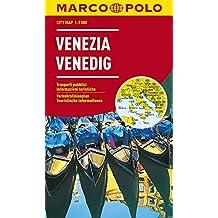 MARCO POLO Cityplan Venedig 1:5 500: Stadsplattegrond 1:15 000 (MARCO POLO Citypläne)