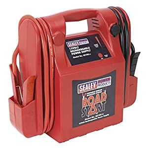 Sealey RS103 RoadStart – Arrancador de Emergencia, 12 V, 3200 A