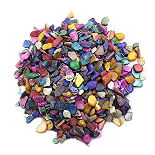 MAGIC SHOW 600Pcs/200g Home Decoration Art & Crafts Mixed Color shells Mosaic Tiles