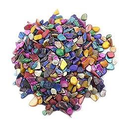 MAGIC SHOW 600Pcs/200g Home Decoration Art & Crafts Mixed Color shells Mosaic Tiles