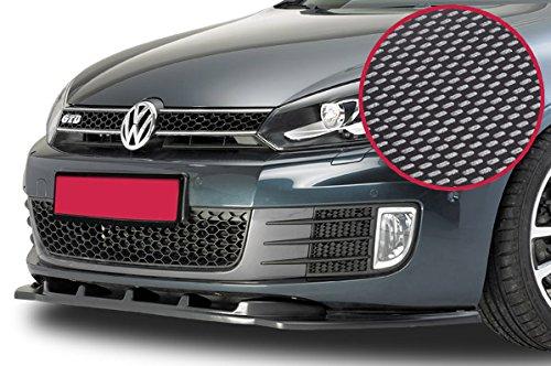 CSR-Automotive Cupspoilerlippe Spoilerschwert mit ABE Carbon Look CSL007-C