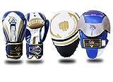 Fokus Pads und Handschuhe Set Boxen MMA Boxsack Training Haken
