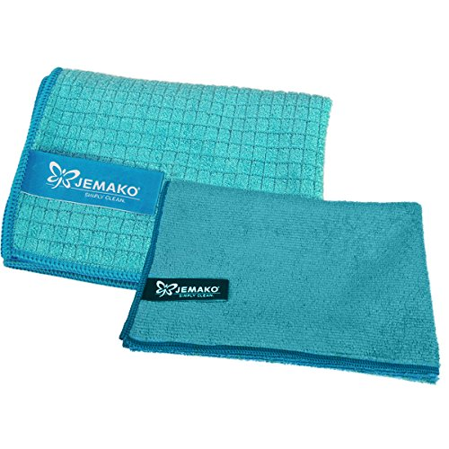 jemako-drying-cloth-45x-60cm-and-professional-cloth-40x-45cm-turquoise