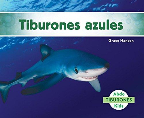 Tiburones Azules (Blue Sharks) (Tiburones/ Sharks) por Grace Hansen