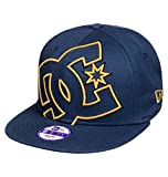 DC Double Up New Era Snapback Youth Cap Vintage Indigo One Size