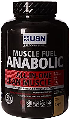 USN 2 kg Anabolic Banana Muscle Fuel by USN