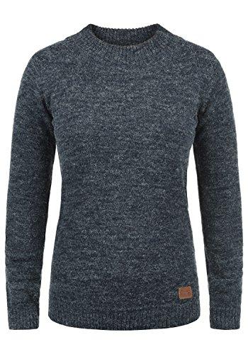n Rollkragenpullover Pullover Feinstrick Turtleneck mit Rollkragen, Größe:XL, Farbe:Navy (70230) ()