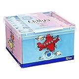 Q TIPS Baby Pflegestäbchen boys & girls Würfelbox 64 St Stäbchen
