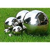 'Mirror-Finish'Silver Balls Stainless Steel Ball Diameter 20 CM