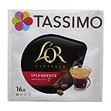 Tassimo L'Or Espresso Splendente, Kaffee, Kaffeekapsel, Gemahlener Röstkaffee, 16 T-Discs