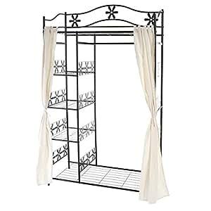 metall garderobe genf garderobenst nder kleiderschrank. Black Bedroom Furniture Sets. Home Design Ideas
