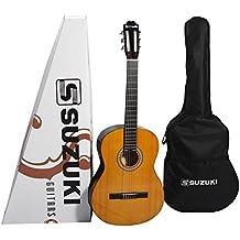 Suzuki SCG2+3/4NL - Guitarra clásica cadete, beis