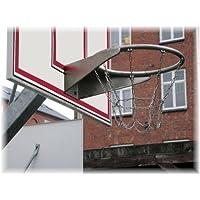 Profi Basketballkorb verzinkt mit Kettennetz, öffentlich, TÜV