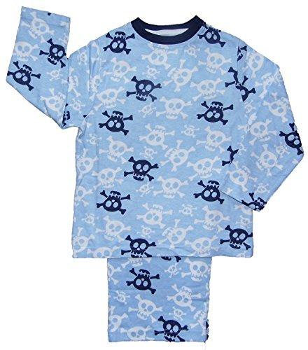 Unknown Jungen Schlafanzug blau blau Gr. 3-4 Jahre, blau