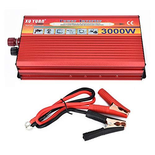 Tragbarer Inverter 24 V auf 110 V Spitzenleistung, 3000 W Wechselrichter, Kfz-Netzteil, Ladeadapter, Inverter Xantrex-portable Power -