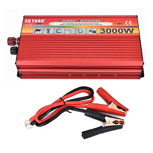 Tragbarer Inverter 12 V auf 110 V Spitzenleistung, 3000 W Wechselrichter, Kfz-Netzteil, Ladeadapter, Inverter Xantrex-ladegerät