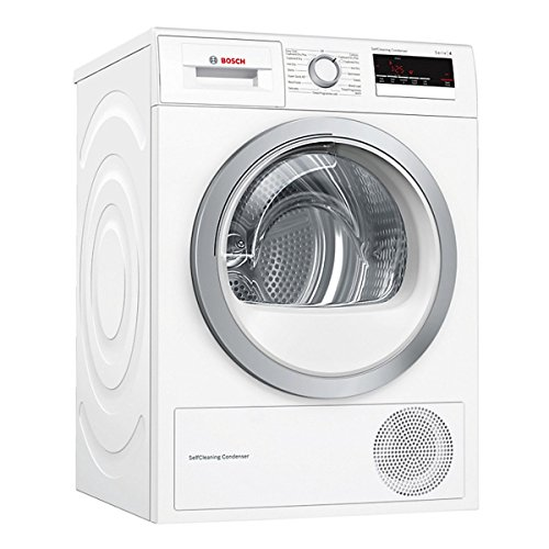 Bosch Serie 4 WTM85230GB 8kg Heat Pump Dryer White A++ 3 Drying Temps