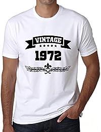 1972 Vintage Year, cadeau homme t shirt, tshirt homme anniversaire, homme anniversaire tshirt