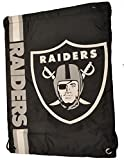 Raiders Turnbeutel / Gymbag Schwarz Limited