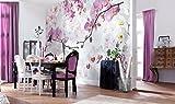 Komar - Vlies Fototapete ALLURE - 368 x 248 cm - Tapete, Wand, Dekoration, Wandbelag, Wandbild, Wanddeko, Blüten - XXL4-032