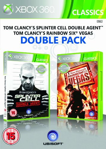 Mystery-spiele 360 Xbox Für ([UK-Import]Ubisoft Double Pack Rainbow Six Vegas & Splinter Cell Double Agent Game XBOX 360)