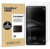 iVoler [Pack de 2] Verre Trempé pour Huawei Mate 8 [Garantie à Vie], Film Protection en Verre trempé écran Protecteur vitre (0,3mm HD Ultra Transparent)