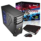 Aerocool Aero PGSV - Ordenador de sobremesa (Intel i5-4590, PB H97, 8 GB de RAM, 1600 MHz, 1 TB de Disco Duro, SSD 120 GB, VGA GTX750, grabadora DVD)