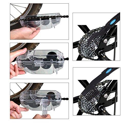 ⇨ Modell 2017 Premium-Fahrradkettenreiniger – Kettenreinigungsgerät für Ihr Fahrrad – einfach & bequem als Set inkl. E-Book- Your Bike Partner – Der optimale Kettenreiniger für Dein Fahrrad - 7