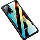amozo - shockproof transparent bumper 360 degree camera protection case cover for samsung galaxy m31s - Transparent